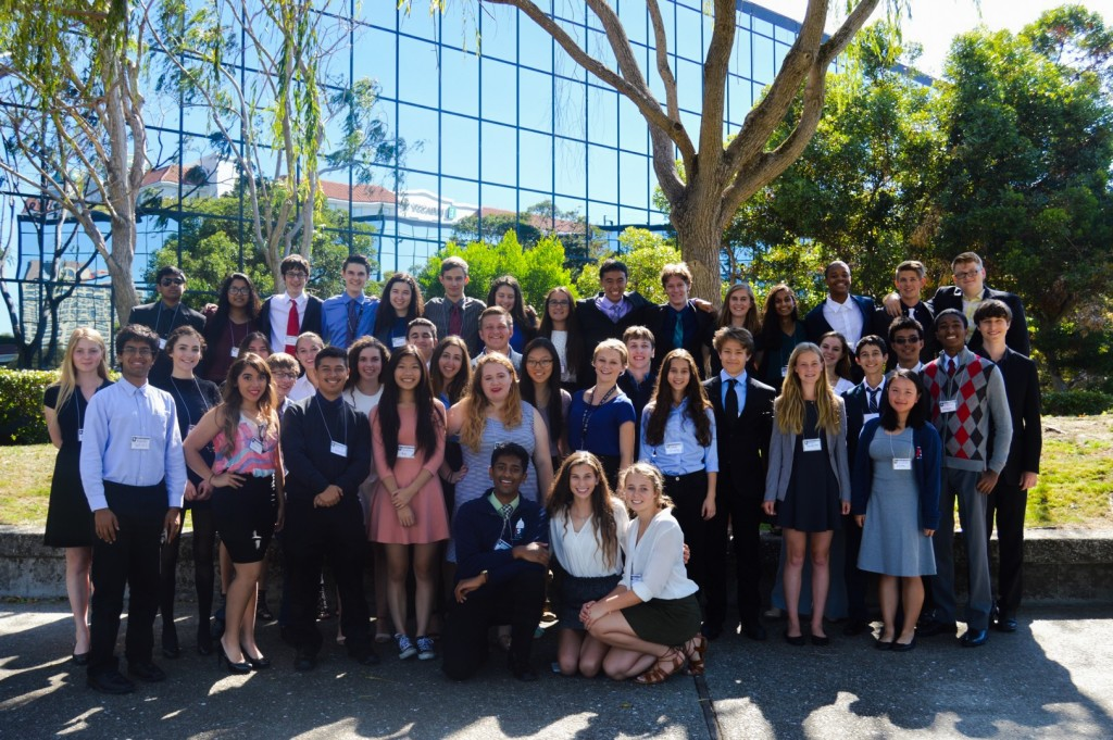 Northern California's Junior Statesmen cabinet members at CabCon 2016 in Burlingame,California. Photos by Jesus Tellitud